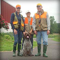 Hunting Dog Gus
